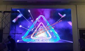 Màn hình LED Full Color P3 trong nhà tại Nhà Hàng SaiGon - Thành Phố Móng Cái 1