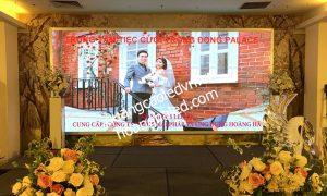 Màn hình LED P3 Full Colour trong nhà tại trung tâm tiệc cưới Trống Đồng - Trần Đăng Ninh 3