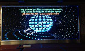 Màn hình LED P5 Full Colour lắp đặt tại trung tâm tiệc cưới Trống Đồng 2