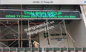 MÀn hình LED P10 ngoài trời tại Thái Bình Group 1