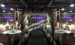 Màn hình LED lắp đặt tại trung tâm tổ chức sự kiện - tiệc cưới 2