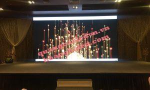 màn hình led full color p3 tại trung tâm tiệc cưới và tổ chức sự kiện 2