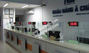 Hệ thống xếp hàng tự động tại Ngân Hàng 2