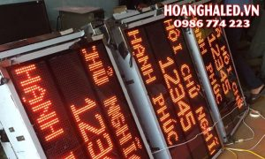 Bảng LED công nghiệp đếm sản phẩm chất lượng hàng đầu xi măng Bỉm Sơn