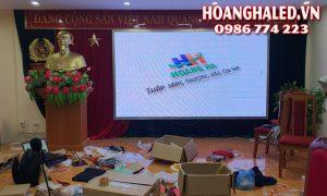 Thi công màn hình LED P3 trong nhà tại huyện Mường La tỉnh Sơn La